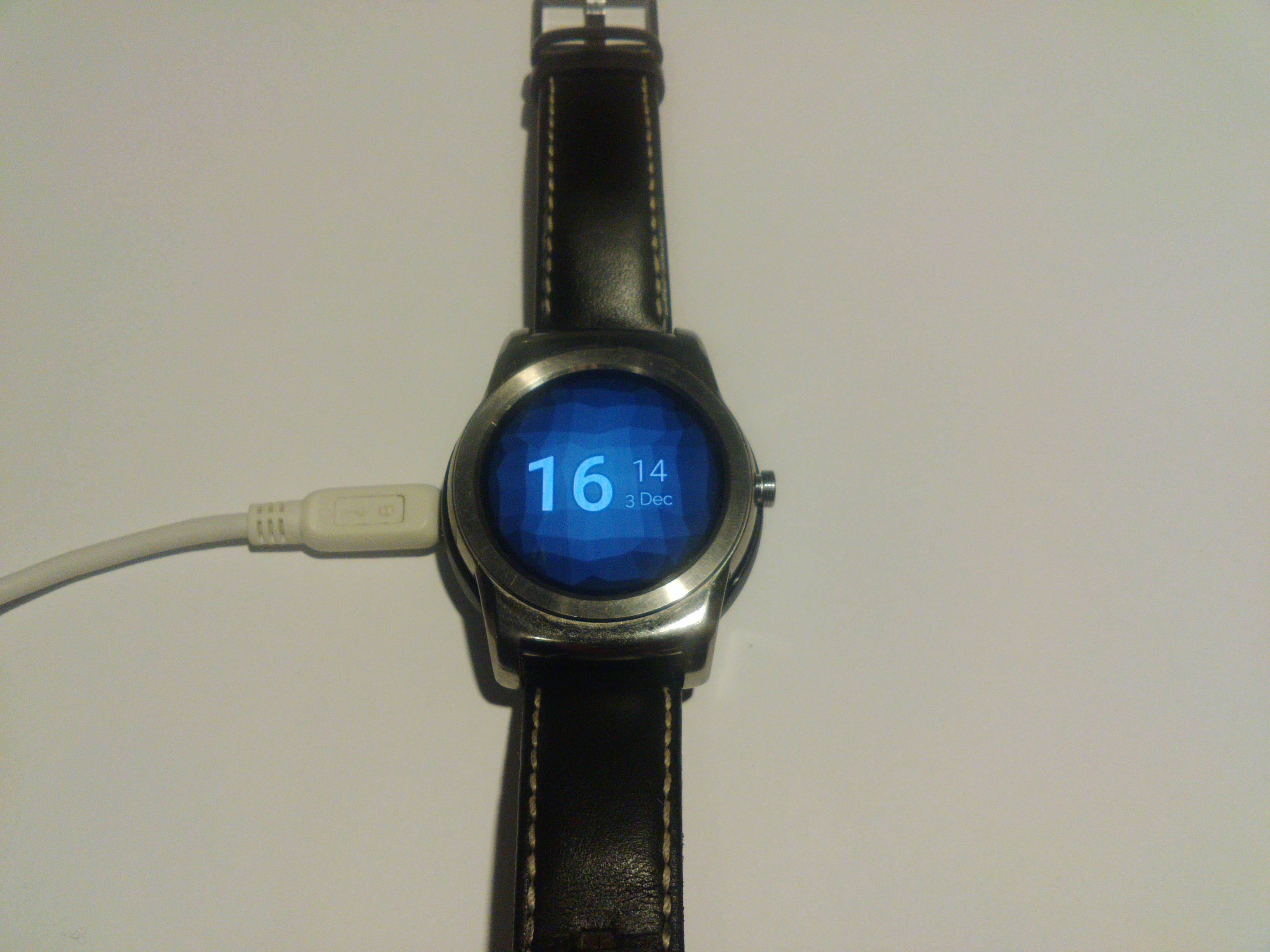 My watch in fastboot